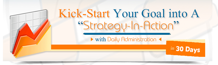 Goal to actionable strategy