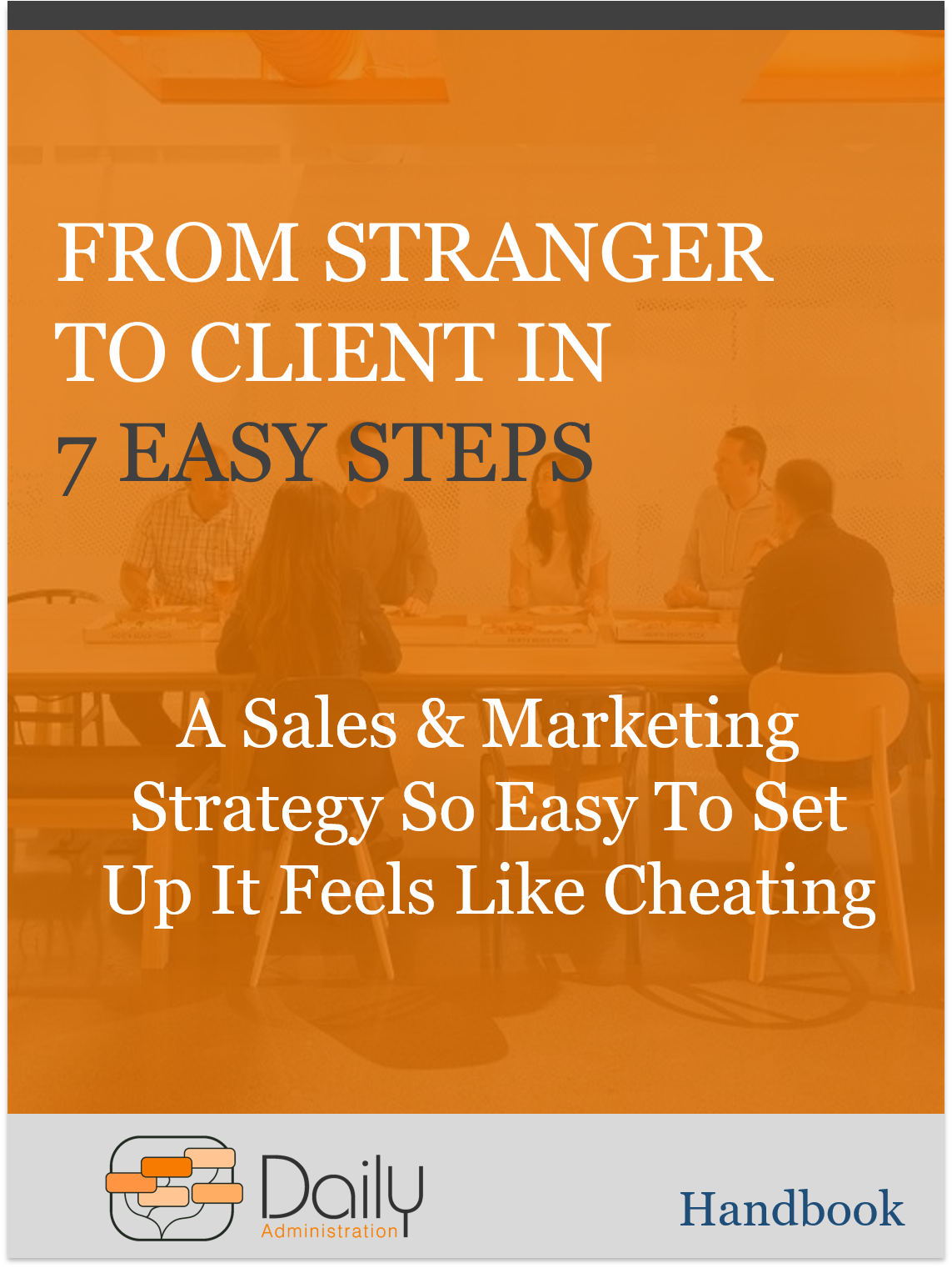Image of Stranger to Client Handbook